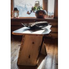 Offset Slab End Table
