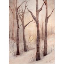 """""""A Winter Snapshot"""" Fine Art Card"""