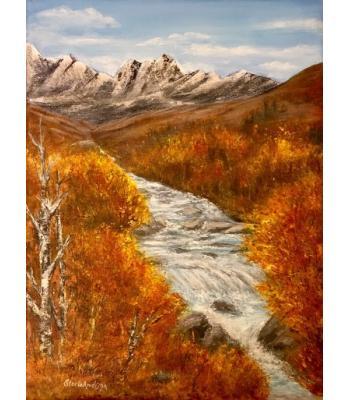 """River View"" Original Painting"