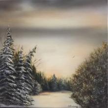 """""""Solitude"""" Original Painting"""