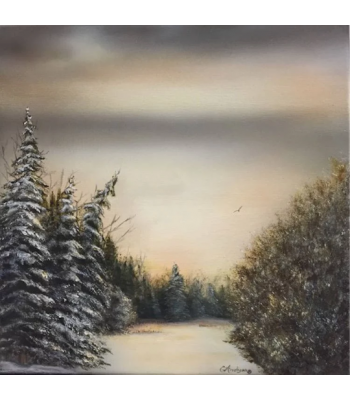 """Solitude"" Fine Art Card"
