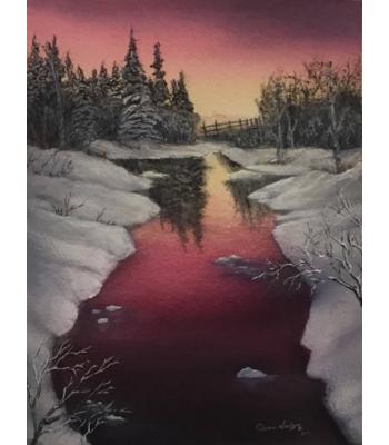 """""""Yukon Sunset Glow"""" Limited Edition Print"""