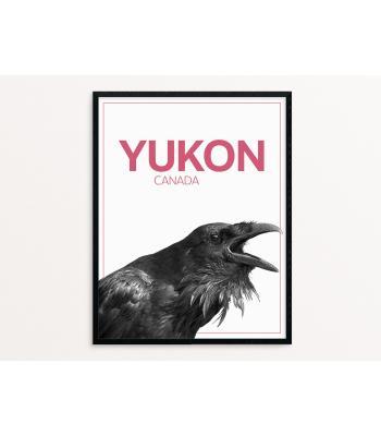 Majestic Raven Poster